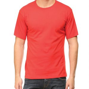 Men's Round Neck - Red