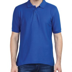 Men's Polo T Shirts - Royal Blue