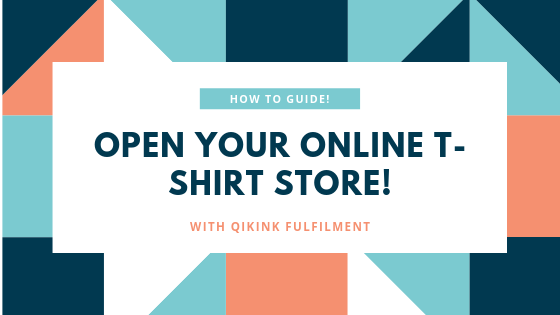 OPEN YOUR ONLINE T-SHIRT STORE!